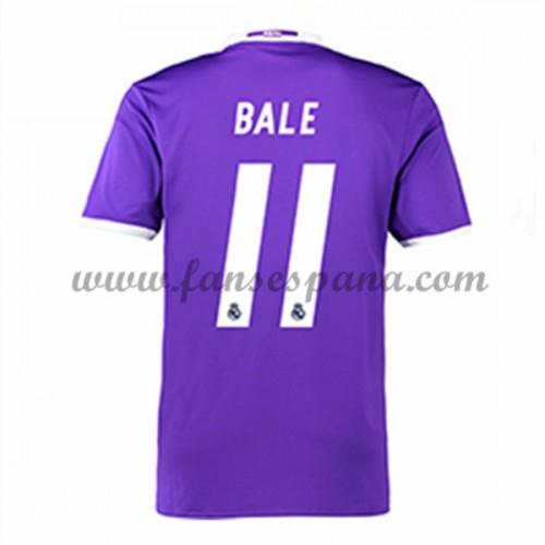 Camisetas De Futbol Real Madrid Bale 11 Segunda Equipación 2016-17 14d75af845395
