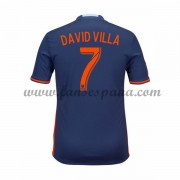Camisetas De Futbol New York City David Villa 7 Segunda Equipación 2016-17..