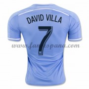 Camisetas De Futbol New York City David Villa 7 Primera Equipación 2016-17..