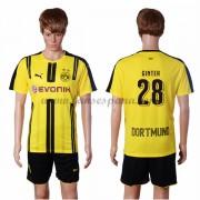 Camisetas De Futbol BVB Borussia Dortmund Ginter 28 Primera Equipación  2016-17. af5c97009e7a6