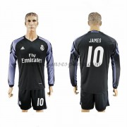 Camisetas De Futbol Real Madrid James 10 Tercera equipación Manga Larga 2016-17..