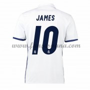 Camisetas De Futbol Real Madrid James 10 Primera Equipación 2016-17..