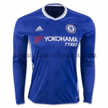 Camisetas De Futbol Chelsea Primera Equipación Manga Larga 2016-17