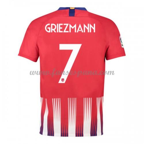 a360085a8e0da Camisetas De Futbol Atletico Madrid Antoine Griezmann 7 Primera Equipación  2018-19