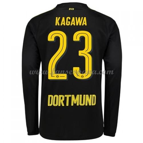 Camisetas De Futbol BVB Borussia Dortmund Shinji Kagawa 23 Segunda  Equipación Manga Larga 2017-18 b115bae660b46