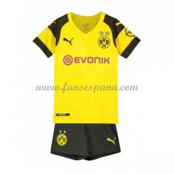 Camisetas De Futbol Niños BVB Borussia Dortmund Primera Equipación 2018-19
