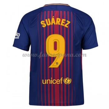 Camisetas De Futbol Barcelona Luis Suarez 9 Primera Equipación 2017-18