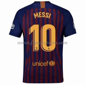 Camisetas De Futbol Barcelona Lionel Messi 10 Primera Equipación 2018-19