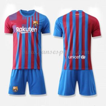 Camisetas Futbol Niños Barcelona Primera Equipación 2017-18