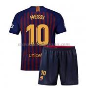 8803a3b9f Camisetas De Futbol Niños Barcelona Lionel Messi 10 Primera Equipación 2018 -19.
