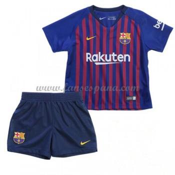 Camisetas De Futbol Niños Barcelona Primera Equipación 2018-19