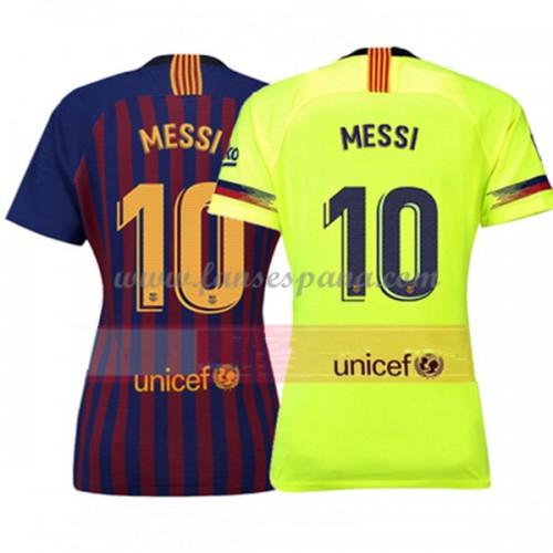 Camiseta Barcelona Mujeres Lionel Messi 10 Primera Equipación 2018-19 20b323543ad