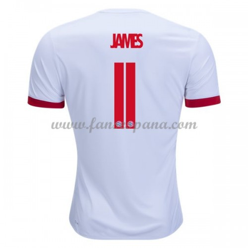 Camisetas De Futbol Bayern Munich 201718 James Rodriguez 11 Tercera  equipación 2017-18 dd9df1e4a1e97