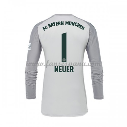 Camisetas De Futbol Bayern Munich Manuel Neuer 1 Portero Primera Equipación  Manga Larga 2018-19 2b15d716cd00d