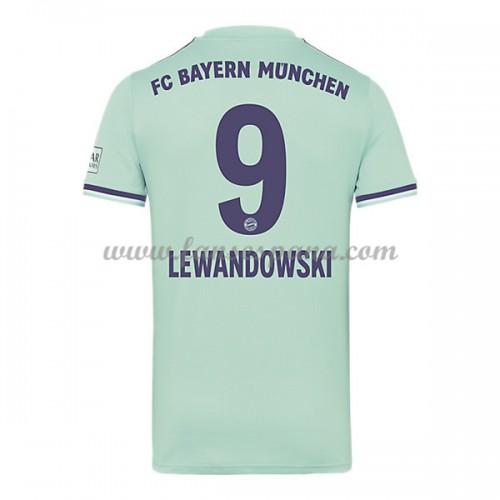 7107f8be7c327 Camisetas De Futbol Bayern Munich Robert Lewandowski 9 Segunda Equipación  2018-19