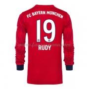 Camisetas De Futbol Bayern Munich Sebastian Rudy 19 Primera Equipación  Manga Larga 2018-19 ea6018e0dd681