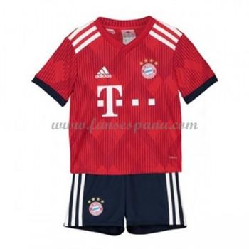 Camisetas De Futbol Niños Bayern Munich Primera Equipación 2018-19