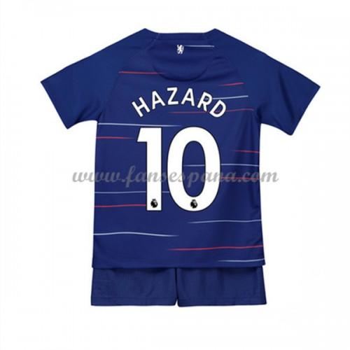 87e083bb Camisetas De Futbol Niños Chelsea Eden Hazard 10 Primera Equipación 2018-19
