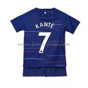 Camisetas De Futbol Niños Chelsea NGolo Kante 7 Primera Equipación 2018-19. 166b730877dbb