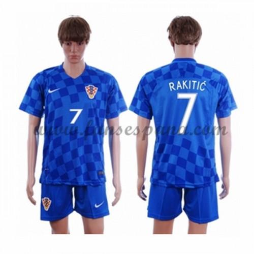 Camisetas De Futbol Barata Croacia 2016 Ivan Rakitic 7 Segunda Equipación fc6977732e546