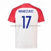 Camisetas De Futbol Baratas Croacia 2018 Mario Mandzukic 17 Primera  Equipación. 367ff76607fe4