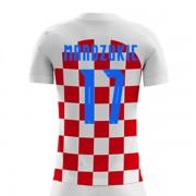 Camisetas De Futbol Selección Croacia Copa Mundial 2018 Mario Mandzukic 17  Primera Equipación. e838054a496b2