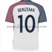 Camisetas De Futbol Barata Francia 2016 Karim Benzema 10 Segunda Equipación. 826deb9a841d3