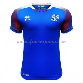 Camisetas De Futbol Selección Islandia Copa Mundial 2018 Primera Equipación