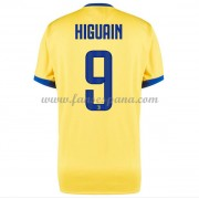 Camisetas De Futbol Juventus Gonzalo Higuain 9 Segunda Equipación 2017-18. b95979810bb5a