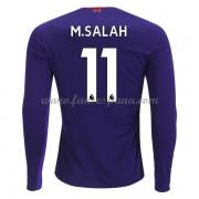 Camisetas De Futbol Liverpool Mohamed Salah 11 Segunda Equipación Manga  Larga 2018-19. 907230c474dea