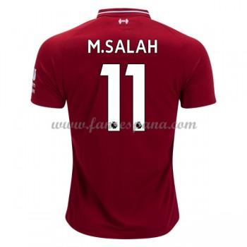 Camisetas De Futbol Liverpool Mohamed Salah 11 Primera Equipación 2018-19