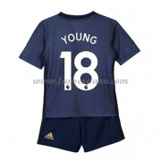Camisetas De Futbol Niños Manchester United Ashley Young 18 Tercera Equipación 2018-19..