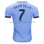 Camisetas De Futbol New York City David Villa 7 Primera Equipación 2017-18..