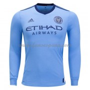 Camisetas De Futbol New York City Primera Equipación Manga Larga 2017-18..