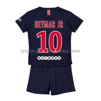 Camisetas De Futbol Niños Paris Saint Germain PSG Neymar Jr 10 Primera Equipación 2018-19