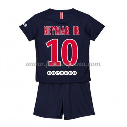3e9d55e94c Camisetas De Futbol Niños Paris Saint Germain PSG Neymar Jr 10 Primera Equipación  2018-19