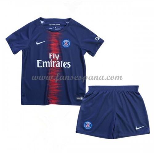 Camisetas De Futbol Niños Paris Saint Germain PSG Primera Equipación 2018-19 13eeded7254