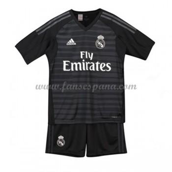 Camisetas De Futbol Niños Real Madrid Portero Primera Equipación 2018-19