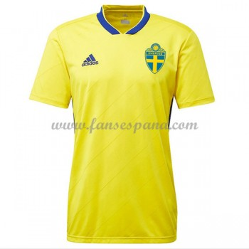 Camisetas De Futbol Selección Suecia Copa Mundial 2018 Primera Equipación