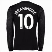 Camisetas De Futbol Manchester United Zlatan Ibrahimovic 10 Segunda  Equipación Manga Larga 2017-18. ad8e972da20d8