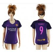 Camiseta Barcelona Mujer Suarez 9 Segunda Equipación 2016-17. bd7dc0a772f
